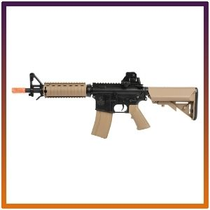 Colt  electric powered adjustable airsoft rifles M4A1 CQBR.
