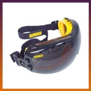 DEWALT - DPG82-21C Dewalt DPG82-21 Concealer Smoke Anti-Fog Dual Mold Safety Goggles