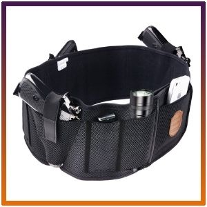 Fullmosa has a holster Mi belly band holder for Holding a gun with smart waistbands.