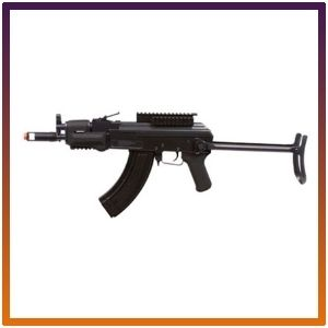 GF76 GameFace electric tactical-Style airsoft  gun with battery charger.