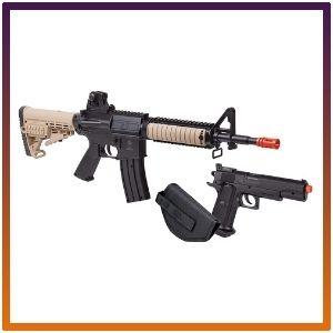 GFR37PKT GameFace Warrior security Single-Shot  pistol gun Airsoft Rifle kit.