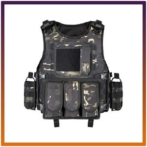 GZ XIN XING Tactical Airsoft Paintball Vest