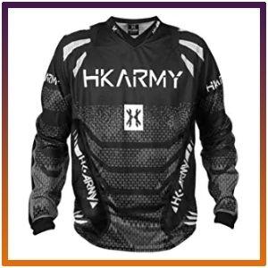 HK freeline army paintball graphite jersey.