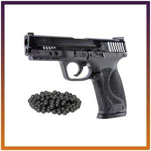 HSA PACKAGE T4E S&W M&P9 M2 .43cal Co2 Semi-Auto Paintball Pistol