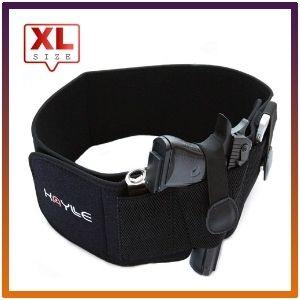 KAYLEE belly band XL holster for smart carry waistband elastic gun.