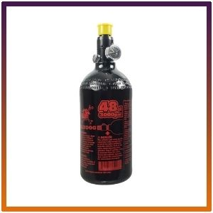 Maddog 48/3000 Aluminum Compressed Air HPA Paintball Tank with Regulator