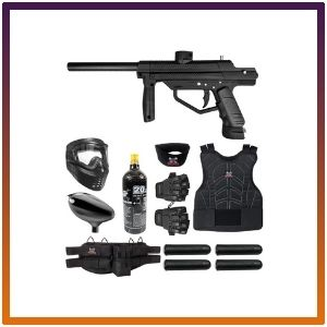 Maddog JT Stealth Semi-Automatic .68 Caliber Protective Paintball Gun