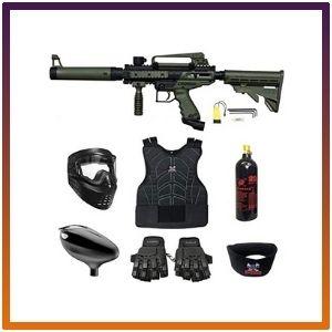 Maddog Tippmann Cronus Tactical Beginner Protective CO2 Paintball Gun