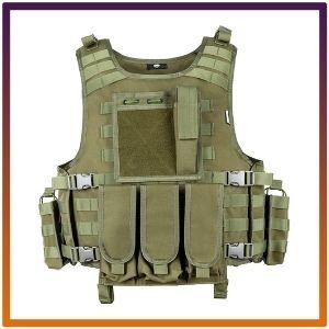 MGFLASHFORCE Tactical Airsoft Vest