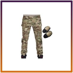 Military Army Tactical Airsoft Paintball Shooting Pants