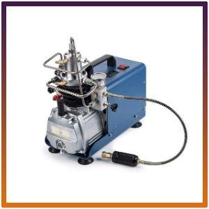 Orion Motor Tech High-Pressure Electric Air Compressor Pump with Pressure Gauge