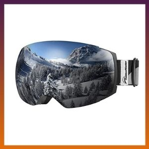 OutdoorMaster OTG Ski Goggles - Over Glasses Ski/Snowboard Goggles