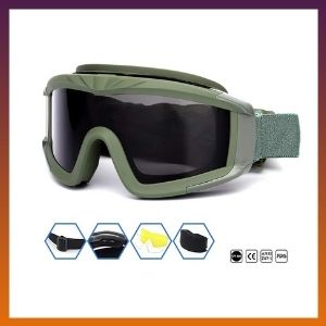 SPOSUNE Outdoor Sports Airsoft Tactical Goggles