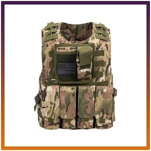 Tactical Airsoft Paintball Vest