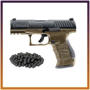 T4E Walther PPQ M2 (GEN2) .43cal CO2 Semi-Auto Blow Back Paintball Pistol